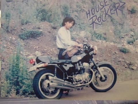 36年前の私です、、奥多摩逆バンクの便所コーナー