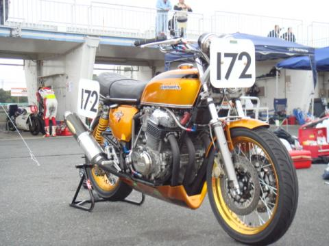 CB750K1レーサー