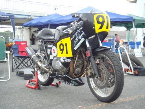 CB500レーサー